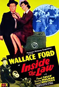 Wallace Ford and Luana Walters in Inside the Law (1942)