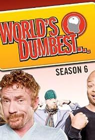 Tonya Harding, Todd Bridges, Danny Bonaduce, and Leif Garrett in World's Dumbest (2008)