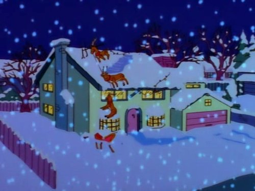 Christmas Simpsons.The Simpsons Miracle On Evergreen Terrace Tv Episode 1997