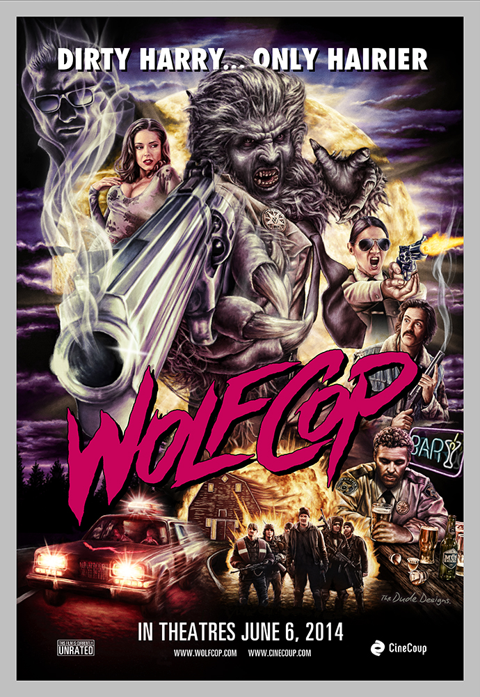 WOLFCOP Theatrical Poster