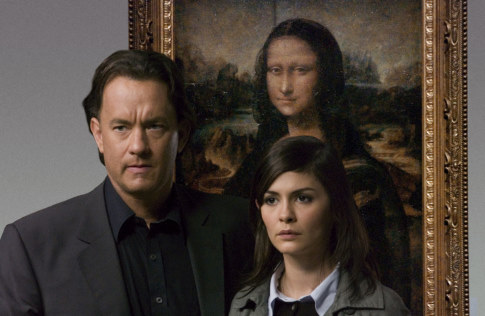 Tom Hanks u sceni iz filma The Da Vinci Code.