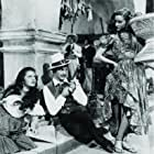 Gene Kelly, Mary Jo Ellis, Ellen Ross, and Walter Slezak in The Pirate (1948)