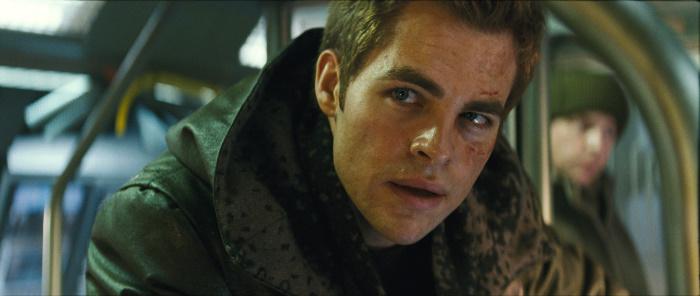 Chris Pine in Star Trek (2009)
