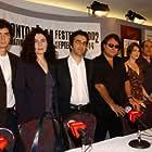 Atom Egoyan, Elias Koteas, David Alpay, Eric Bogosian, Marie-Josée Croze, Arsinée Khanjian, and Robert Lantos at an event for Ararat (2002)