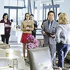 Calista Flockhart, Mehcad Brooks, and Melissa Benoist in Supergirl (2015)