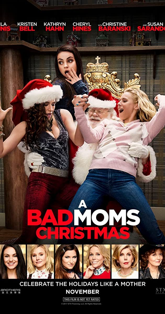 Watch Full HD Movie A Bad Moms Christmas (2017)