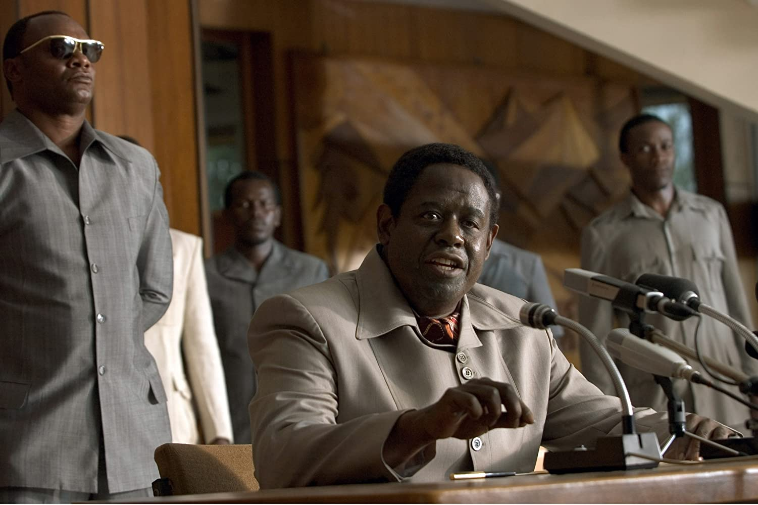 Forest Whitaker in The Last King of Scotland (2006)