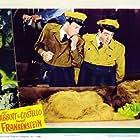 Bud Abbott, Lou Costello, and Glenn Strange in Bud Abbott Lou Costello Meet Frankenstein (1948)