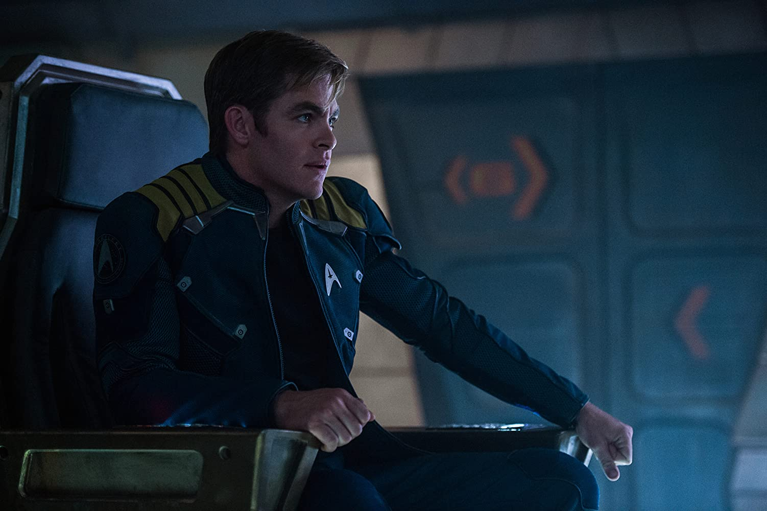 Chris Pine in Star Trek: Beyond (2016)