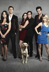 David Walton, Kyle Bornheimer, Olivia Munn, Mary Elizabeth Ellis, Hayes MacArthur, and Christine Woods in Perfect Couples (2010)