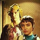 Matthew Lillard and Angelina Jolie in Hackers (1995)