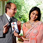 Anupam Kher and Shriya Saran in The Other End of the Line (2007)