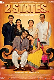 Ronit Roy, Amrita Singh, Shivkumar Subramaniam, Alia Bhatt, and Arjun Kapoor in 2 States (2014)