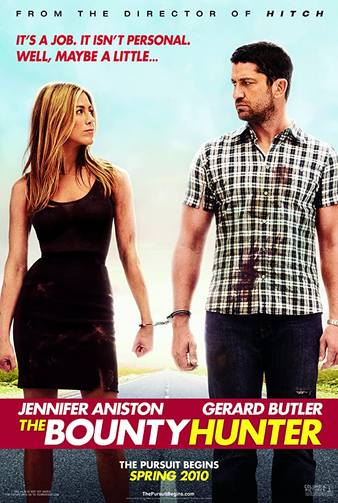 The Bounty Hunter 2010 Hindi Dual Audio 400MB BluRay ESub