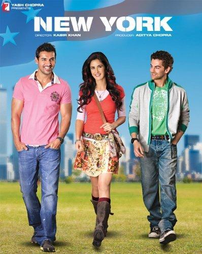 Katrina Kaif, John Abraham, and Neil Nitin Mukesh in New York (2009)