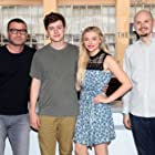 Liev Schreiber, Chloë Grace Moretz, J Blakeson, and Nick Robinson at an event for The 5th Wave (2016)
