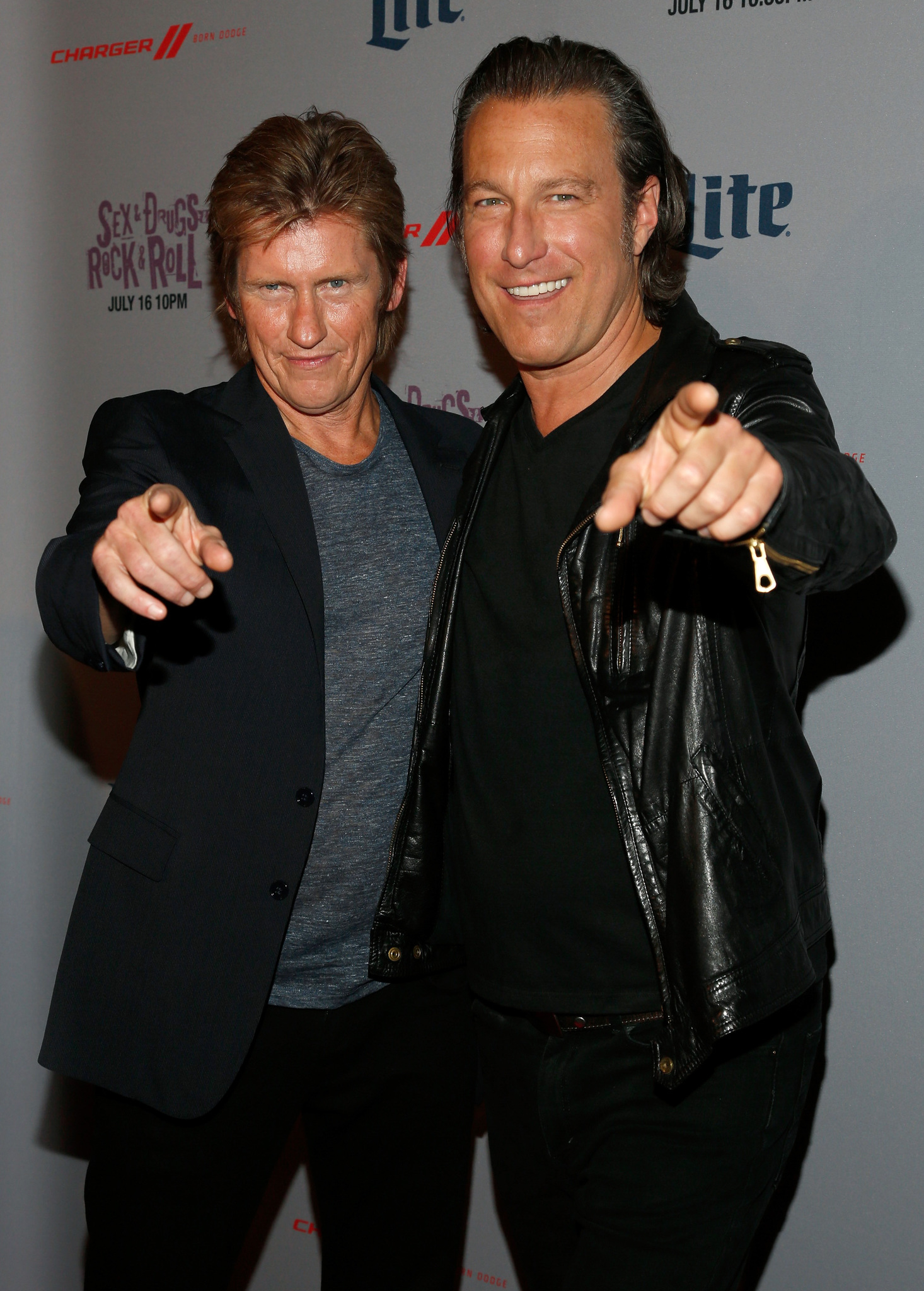 Denis Leary and John Corbett at an event for Sex & Drugs & Rock & Roll (2015)