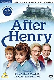 Jonathan Newth, Joan Sanderson, Prunella Scales, and Janine Wood in After Henry (1988)