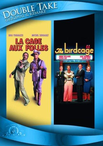 Michel Serrault and Ugo Tognazzi in La Cage aux folles (1978)