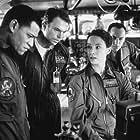 Laurence Fishburne, Sam Neill, Kathleen Quinlan, and Jason Isaacs in Event Horizon (1997)