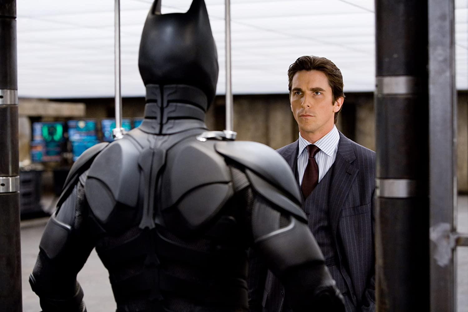 Christian Bale in The Dark Knight (2008)