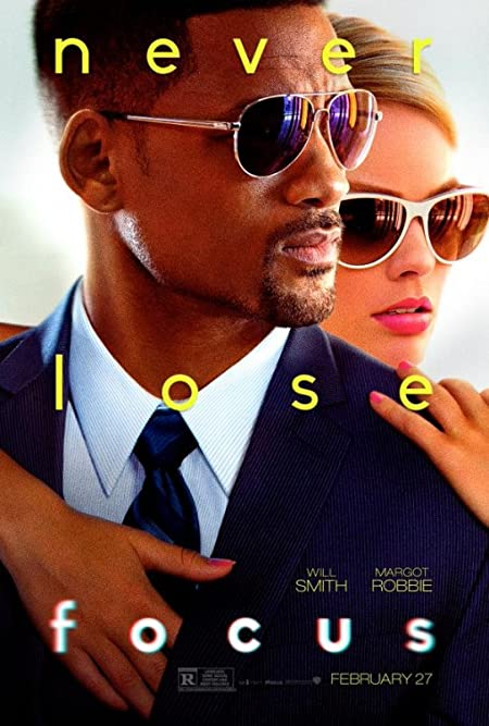 [R] Focus (2015) English  Blu-Ray - 480P | 720P - x264 - 250MB | 800MB - Download & Watch Online  Movie Poster - mlsbd