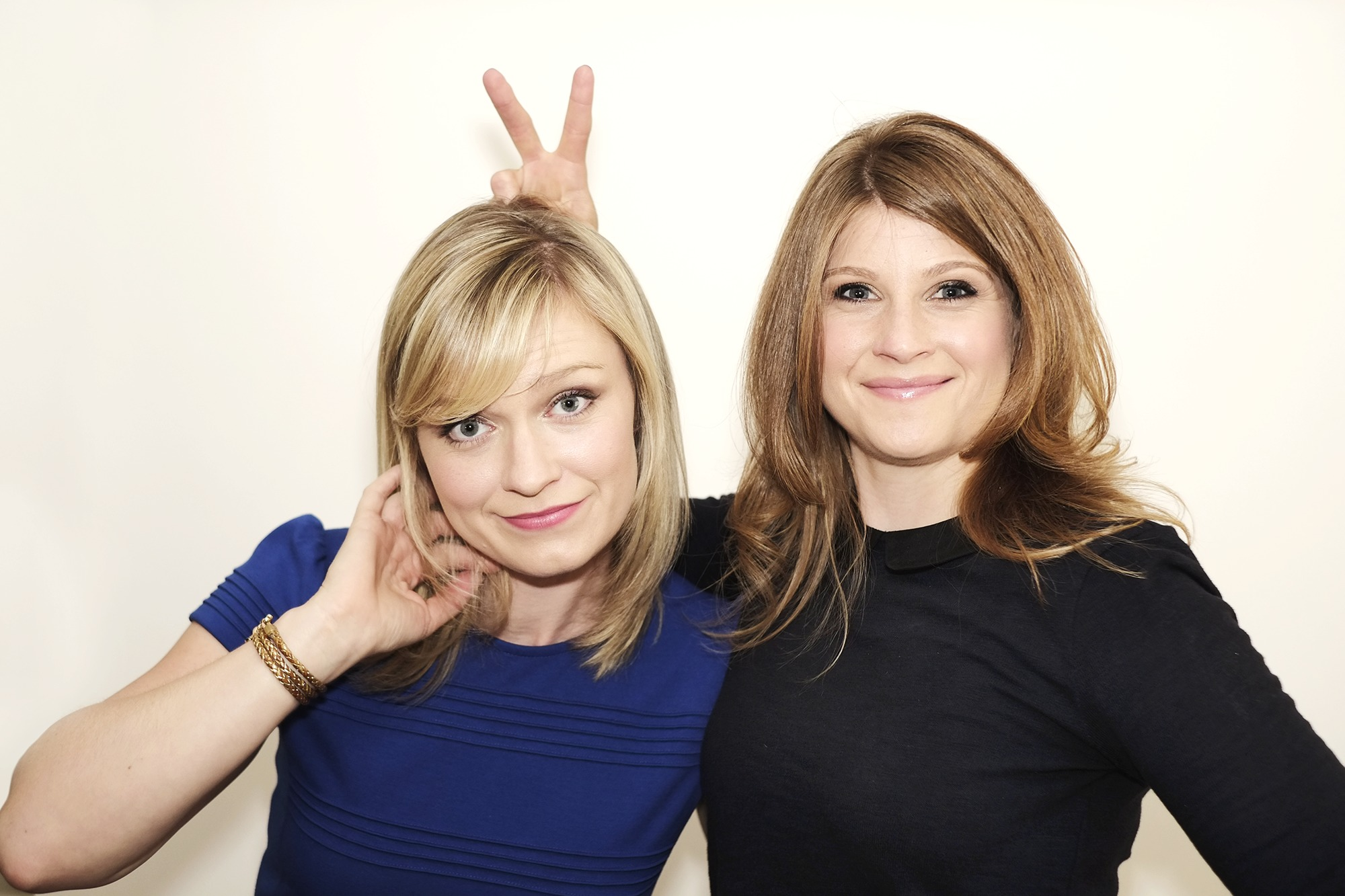 Katie Locke O'Brien and Claire Gerety-Mott, creators of THE HUB web series.