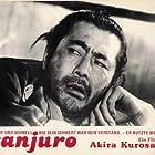Toshirô Mifune in Tsubaki Sanjûrô (1962)