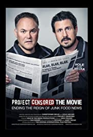 Project Censored the Movie Poster