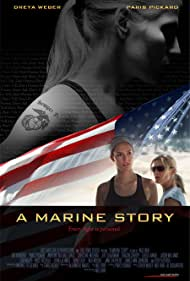 Dreya Weber and Paris P. Pickard in A Marine Story (2010)