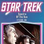 Leonard Nimoy, William Shatner, James Doohan, and DeForest Kelley in Star Trek (1966)