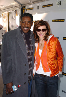 Ernie Hudson and Mary Steenburgen at an event for Marilyn Hotchkiss' Ballroom Dancing & Charm School (2005)