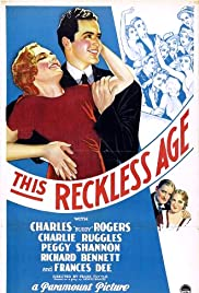 This Reckless Age Poster
