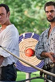 Elliot Cowan and Tom Bateman in Da Vinci's Demons (2013)