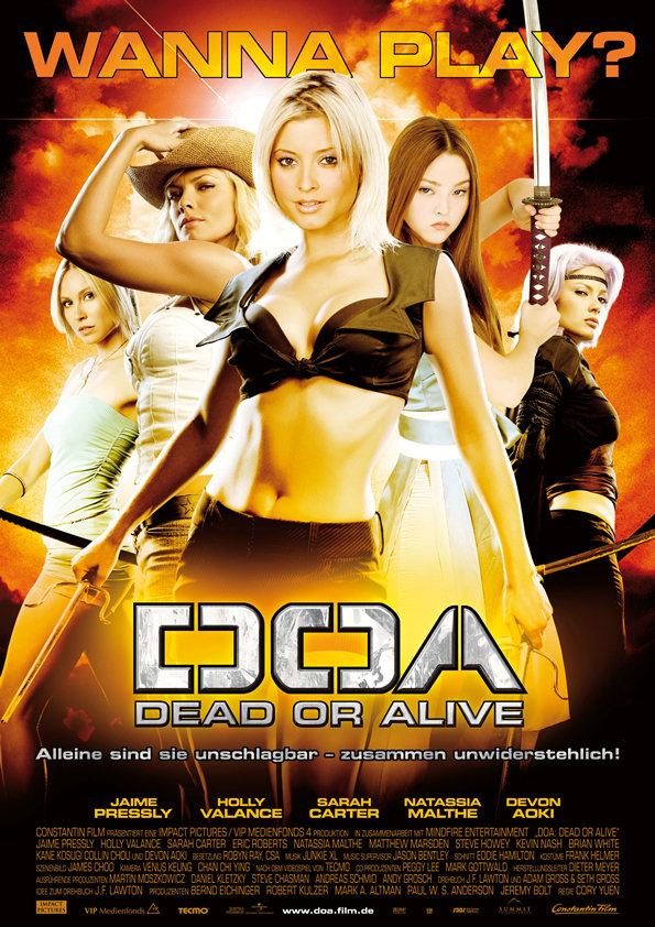 DOA: Dead or Alive 2006 Hindi Dual Audio 720p BluRay ESubs 625MB Download