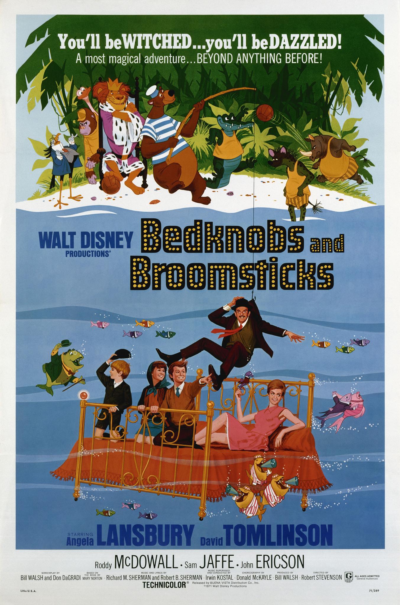 Bedknobs and Broomsticks (1971) - IMDb