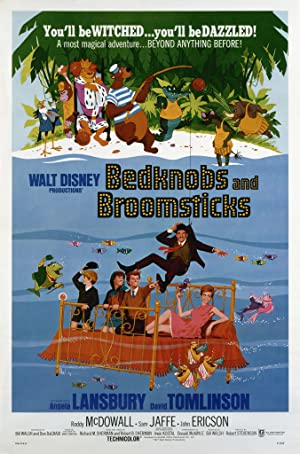 Bedknobs and Broomsticks Poster Image