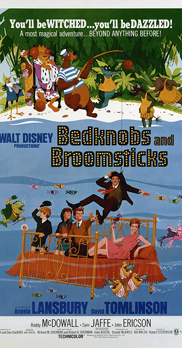 Bedknobs and Broomsticks (1971) - IMDb