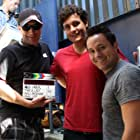 Matthew Karchesky, Kevin Callies, and D.J. Halferty in The A-List (2015)