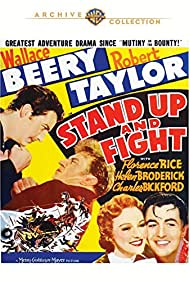 Wallace Beery, Robert Taylor, and Florence Rice in Stand Up and Fight (1939)