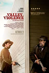 Ethan Hawke and John Travolta in In a Valley of Violence (2016)