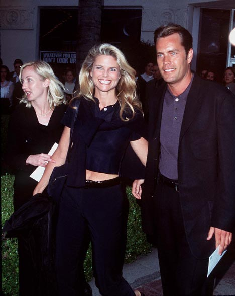 Christie Brinkley and Peter Cook at an event for Independence Day (1996)
