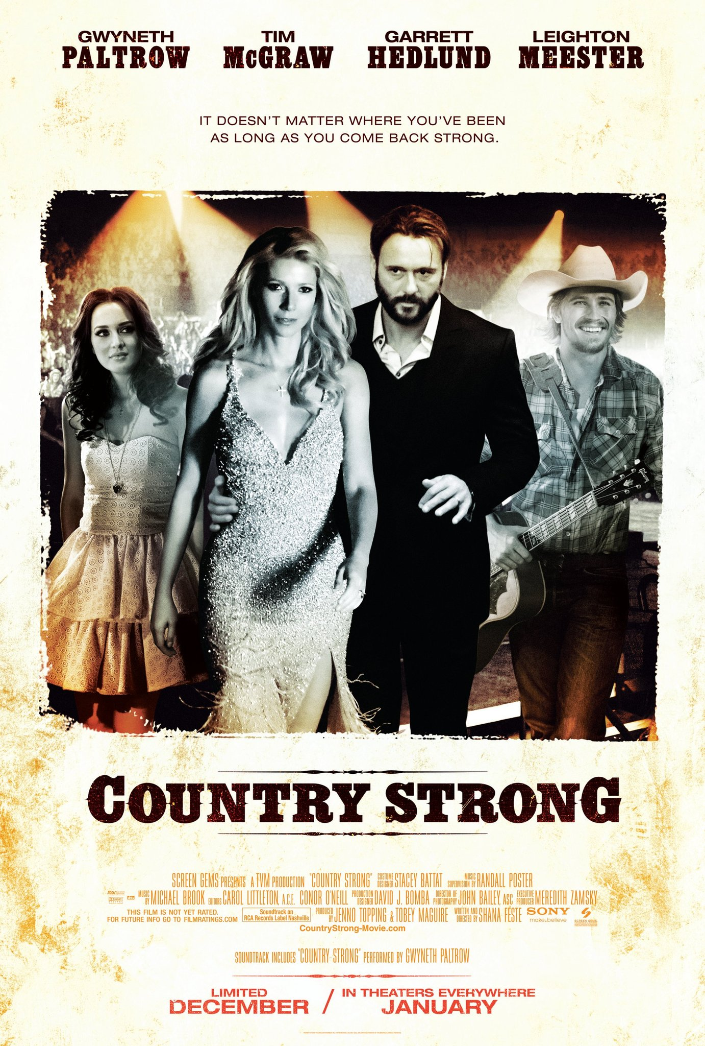Gwyneth Paltrow to release Country Strong single picture