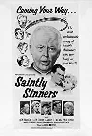 Don Beddoe, Paul Bryar, Ron Hagerthy, Jacklyn O'Donnell, and Addison Richards in Saintly Sinners (1962)