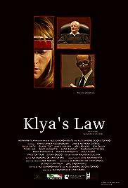 Klya's Law Poster