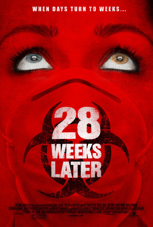 28 Weeks Later 2007 English 720p HDRip 700MB Download