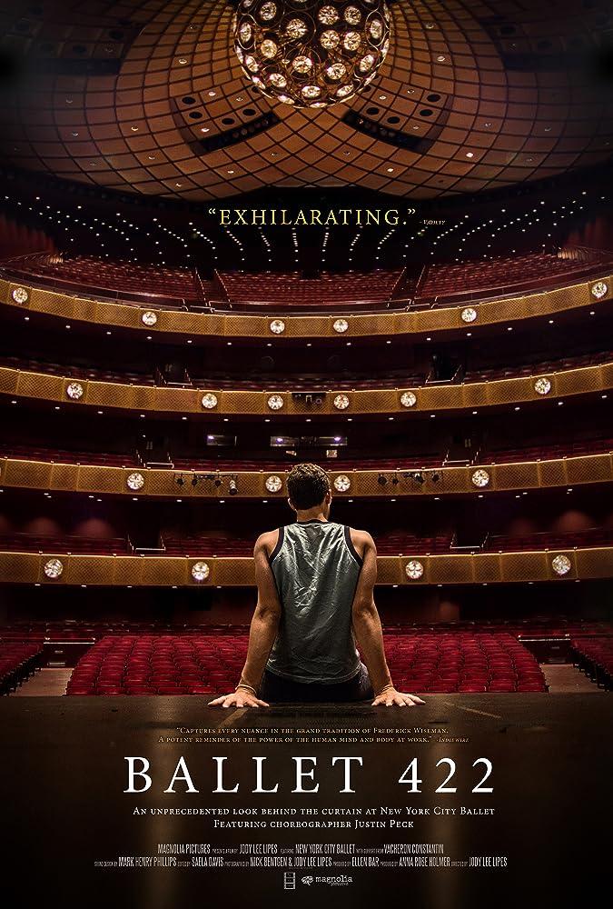 Justin Peck in Ballet 422 (2014)