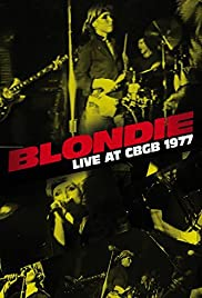 Blondie: Live at CBGB 1977 Poster