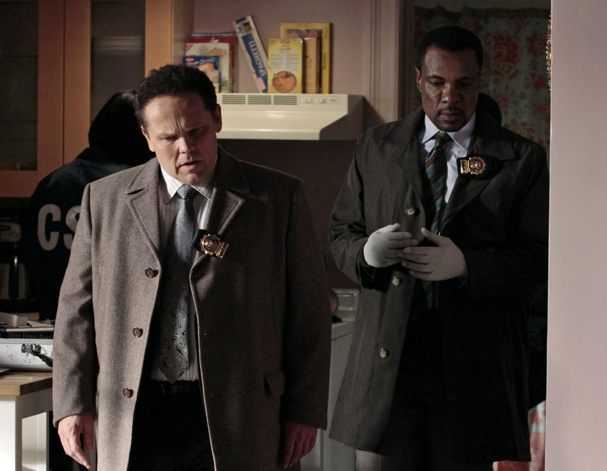 Kevin Chapman and Allan Louis in Person of Interest (2011)