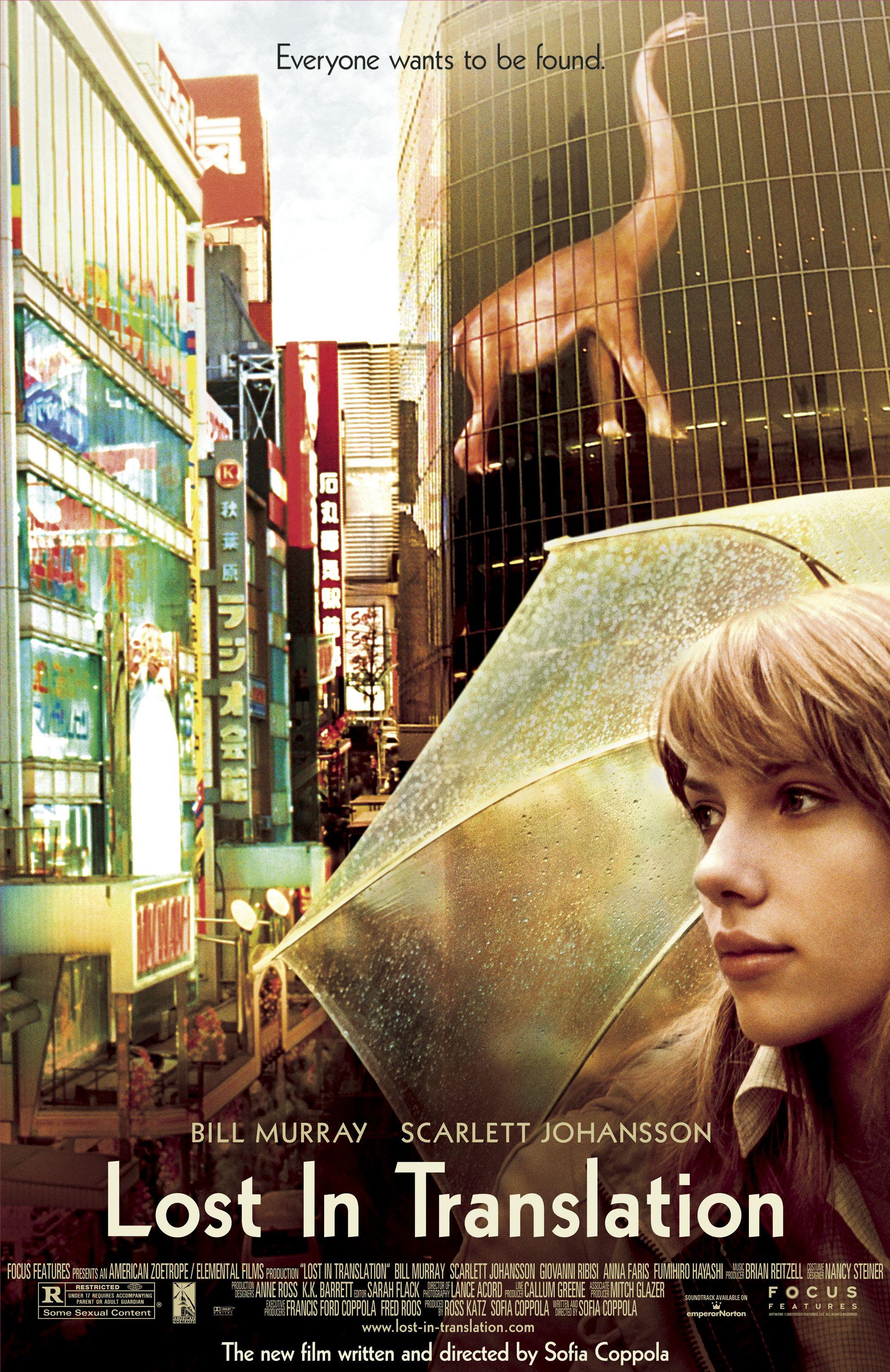《爱情,不用翻译》(Lost in Translation)。图片来源:IMDb